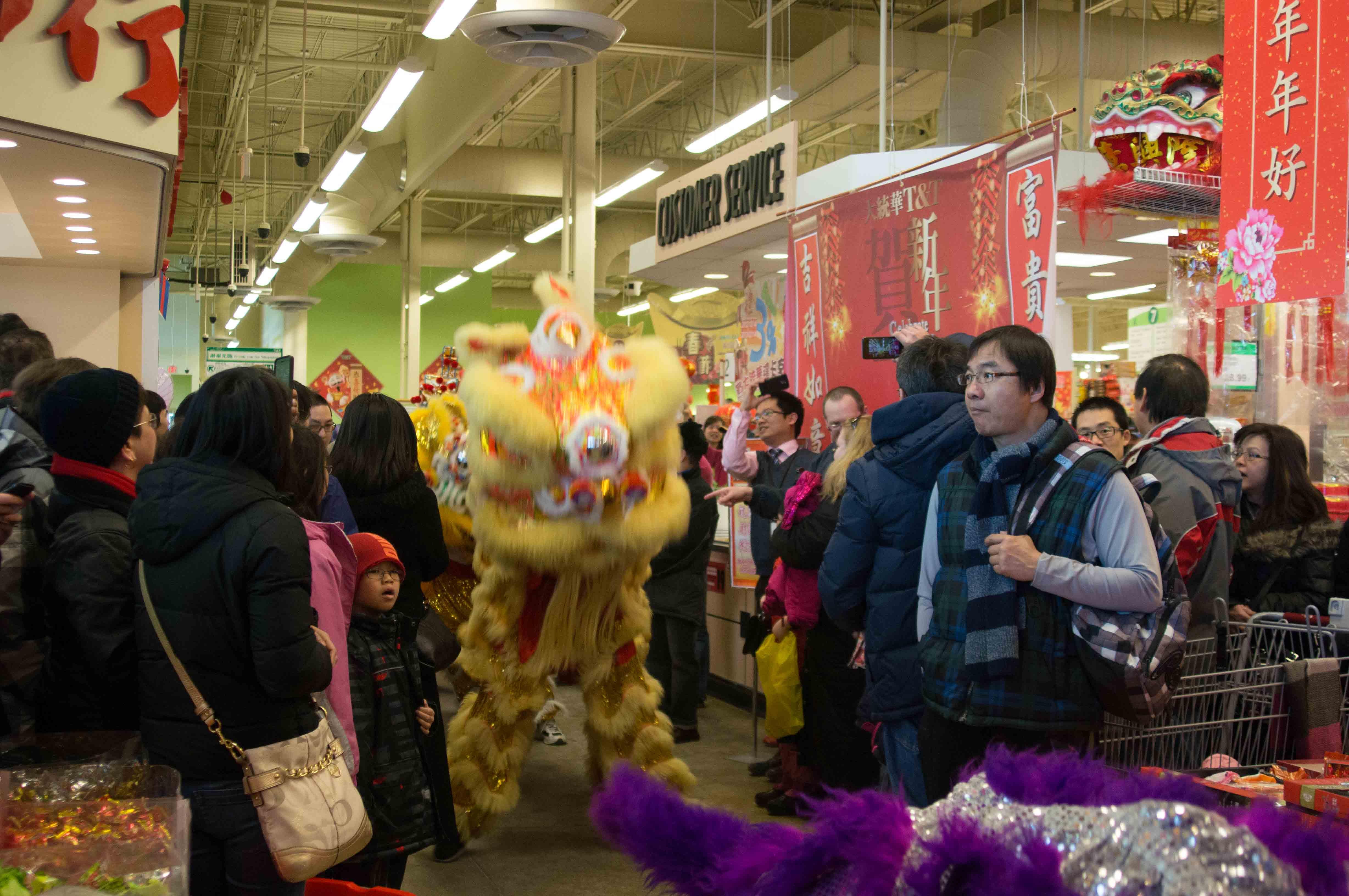Lion Dance T&T Supermarket Feb 2013-3