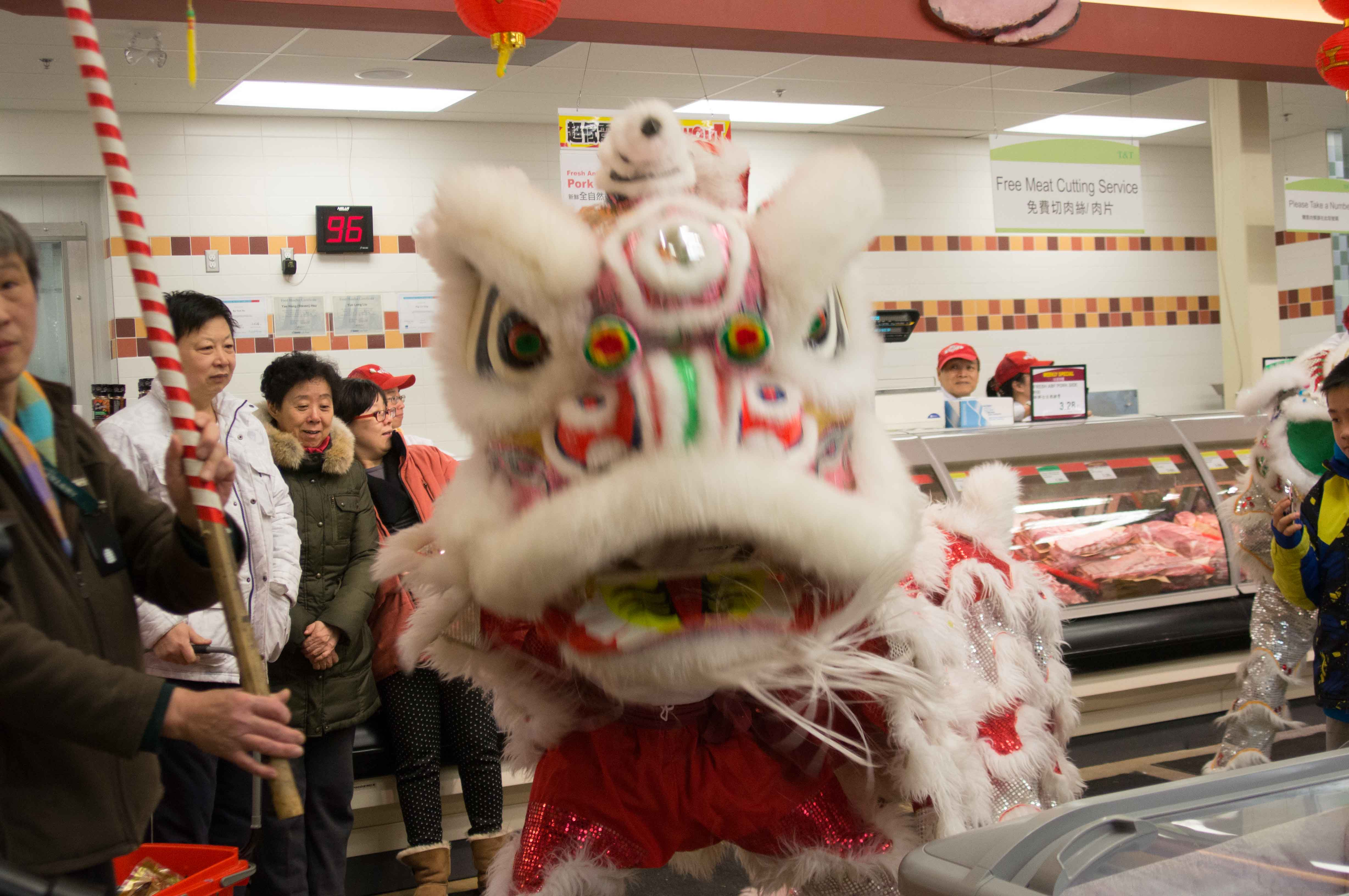 Lion Dance T&T Supermarket Feb 2013-7